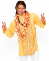 Mens Adult Love Guru Outfit HIPPIE funny mens costume XL