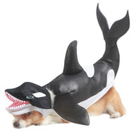 ORCA DOG costume halloween pet animal planet shamoo willie MEDIUM