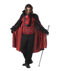 COUNT BLOODTHIRST adult costume vampire costume L