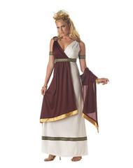 ROMAN EMPRESS womens greek goddess sexy costume halloween SMALL 6-8