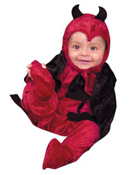 DEVIL darling baby infant halloween costume 6 18 months