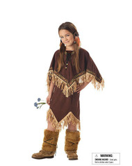POCAHONTAS indian princess non native girls costume halloween XS