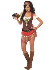 MYSTIC GYPSY fortune teller womens costume L