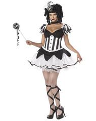 COURT JESTER harlequin womens adult halloween costume S