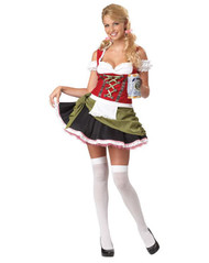BAVARIAN BAR MAID womens adult halloween costume 2XL