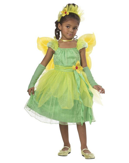 blossom fairy princess dress kids toddler girls halloween costume pixie 4 6
