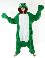 FROG adult animal womens mens costume pajamas anime BCozy ONE SIZE