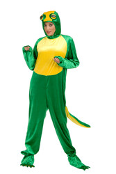 GECKO adult mens womens lizard halloween costume L