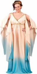 ATLANTIS GODDESS QUEEN womens halloween costume PLUS