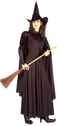 WICKED WITCH classic black dress west wizard of Oz womens halloween costume
