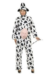COW unisex animal barnyard farm adult womens mens halloween costume plus 1X