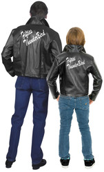 FIFTIES THUNDERBIRDS JACKET grease lightning unisex halloween costume LARGE