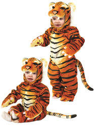 Kids Little Tiger Costume Charades XS