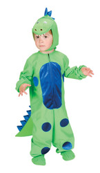 LITTLE DINOSAUR dragon reptile animal boy toddler kids halloween costume 2T - 4T