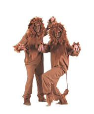 Lion costume adult unisex LARGE