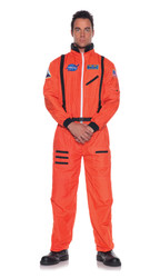 orange ASTRONAUT suit space adult mens halloween costume One Size Fits Most