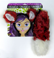 Fox Ears and Tail Costume Accessory Kit