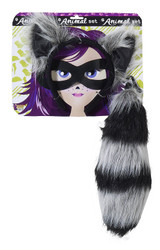 Raccoon Costume Accessory Kit