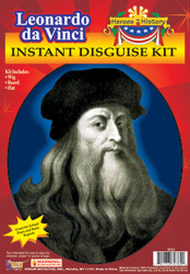 Heroes in History Leonardo Da Vinci Costume Kit Kids Child
