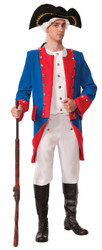Deluxe Colonial General Costume Adult Standard