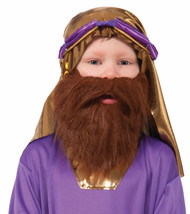 Bible Times Child Wiseman Beard Brown Costume