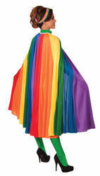 Adult Rainbow Fantasy Cape