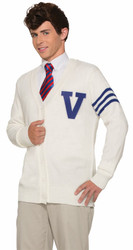 50s Varsity Student Sweater Adult Costume