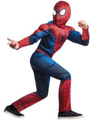Deluxe Amazing Spiderman 2 Kids Costume