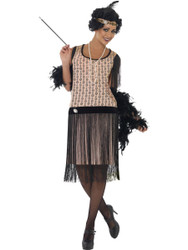 Womens 1920's Flapper Costume