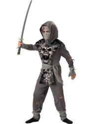 Kids Zombie Ninja Costume