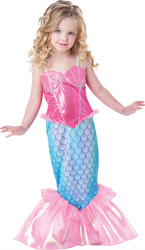 Girls Mermaid Toddler Costume