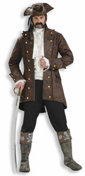 BUCCANEER JACKET renaissance pirate coat colonial historical halloween costume