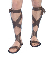 Adult Roman Sandals Costume Accessory