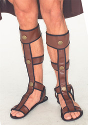 Adult Gladiator Sandals Costume Accessory