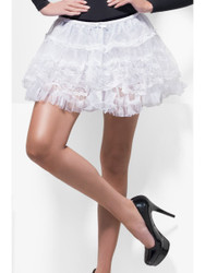 Adult Deluxe White Lace Petticoat