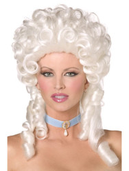 Marie Antoinette Baroque Wig Womens Costume Accessory