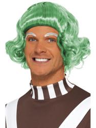 Candy Creator Oompa Loompa Green Men's Wig