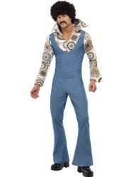 Groovy Dancer Jumpsuit Mens Costume
