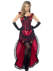 Western Brothel Babe Adult Costume