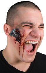 Woochie Bloody Bolt Latex Prosthetic
