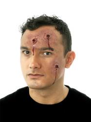 Woochie Body Hits Bullet Holes Latex Prosthetic