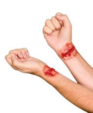 Woochie Slashed Wrist Latex Prosthetic