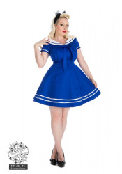Sailor Swing Mini Dress