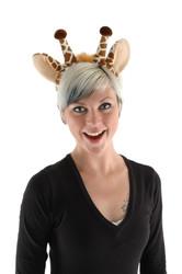 GIRAFFE EARS TAIL set geoffrey animal safari adults kids costume accessory kit