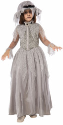 Victorian Ghost Dress Kids Costume
