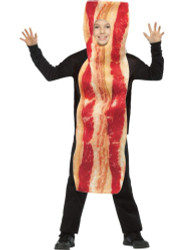 Get Real Bacon Strip Costume Kids 7-10