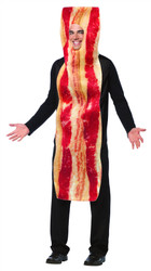 Get Real Bacon Strip Costume Adult Size