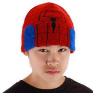 Spiderman Beanie Hat Marvel Super Hero Kids Costume Accessory