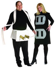 PLUG AND SOCKET couples plus size mens womens funny halloween costume set