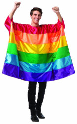Flag Tunic Rainbow Adult Costume